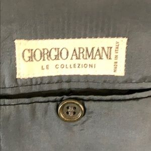Giorgio Armani Suits & Blazers - GIORGIO ARMANI MEN'S BLACK BLAZER SIZE 42 R